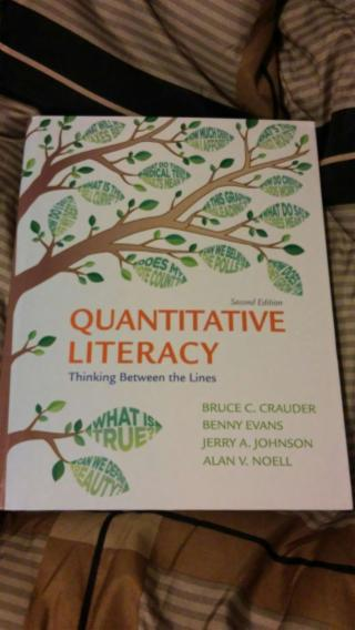 Quantitative Literacy Textbook