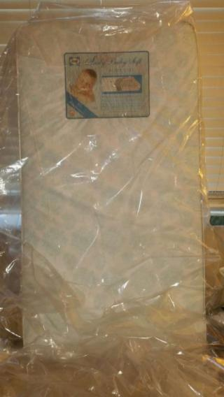 Never used - Sealy baby soft supreme crib mattress with added air flow