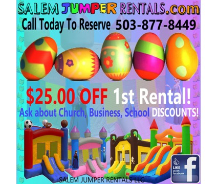 BOUNCY HOUSE RENTALS in time for EASTER