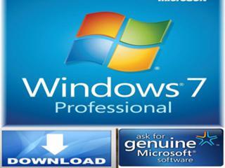 Windows 7 Professional 32/64 Bit English License + Instant Download