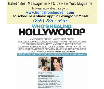 Massage Therapist Lexington KY