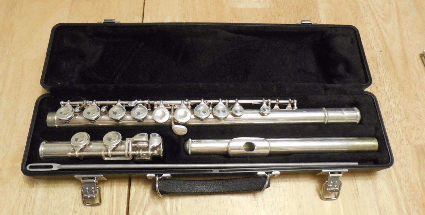 Selmer USA 1206 Student Silver Plated Flute C Foot 788576