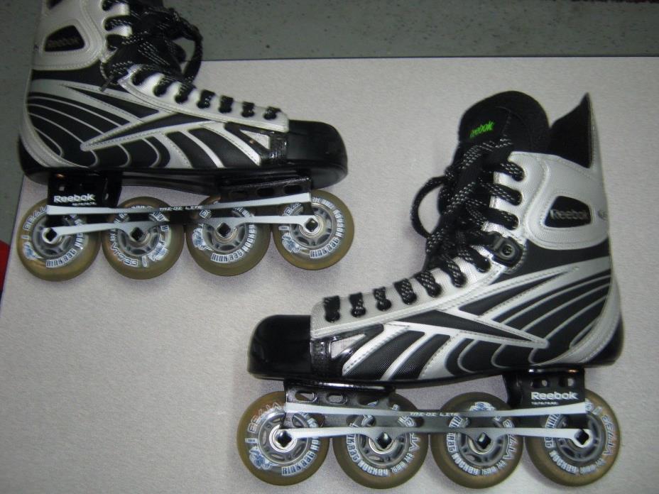 Reebok 4K Roller Street Hockey Inline Skates - US Skate Size 10 D-FREE SHIPPING!