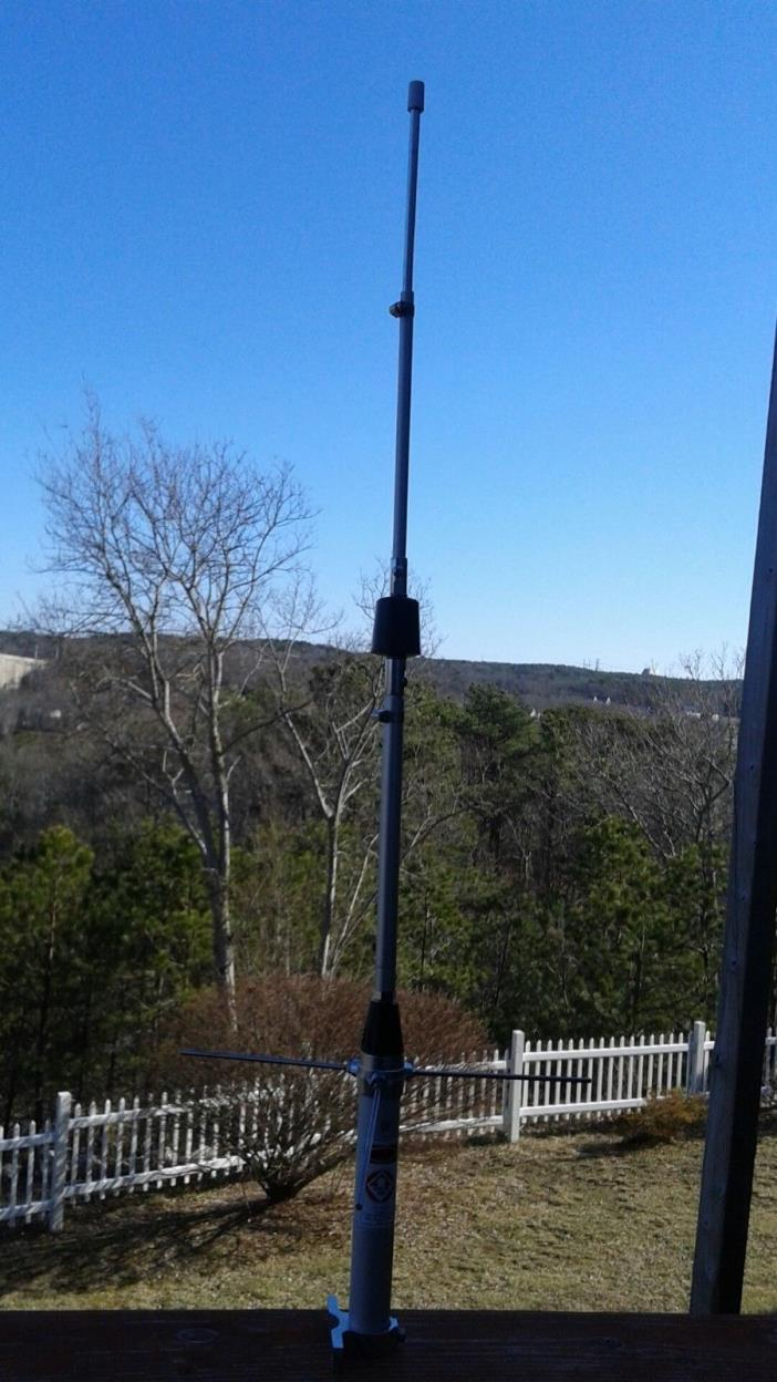 Ham Radio 5/8 Wave UHF ANTENNA HIGH GAIN fine tunable ground plane included