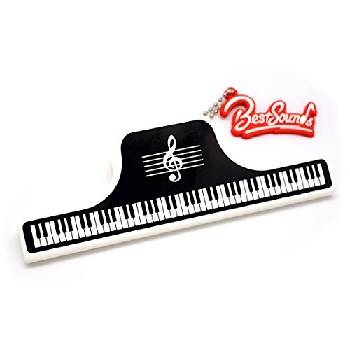 OPOCC Music instrument Book Clip,piano Book Clip,Book Holder Page Holder,Paper
