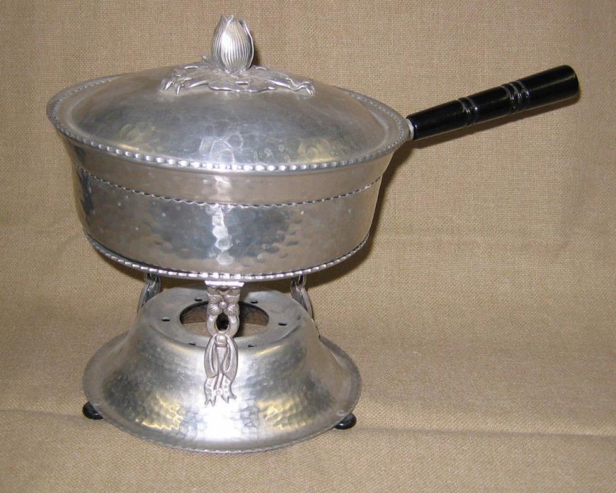 Chafing pot, Aluminum