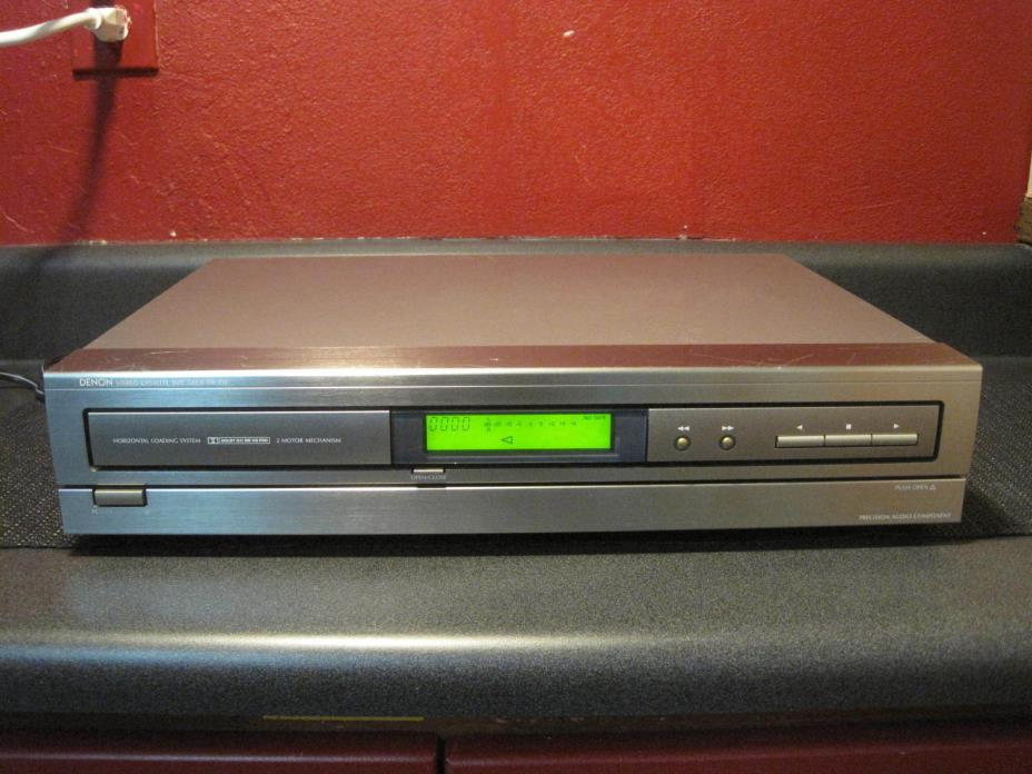 Denon Stereo Horizontal Cassette Tape Deck DR-210 - TESTED