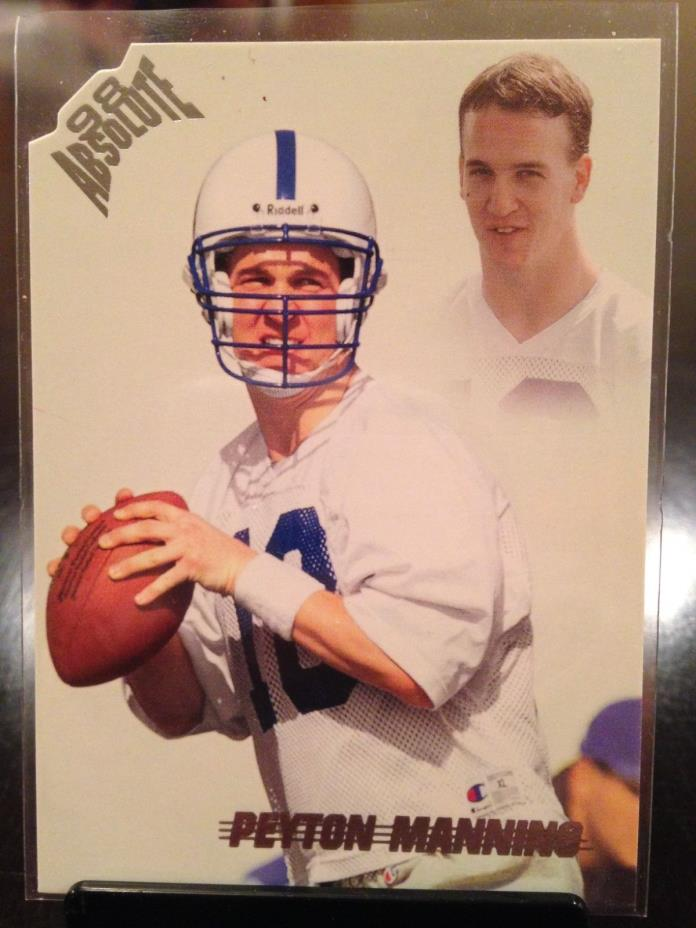 1998 Peyton Manning Absolute Rookie MINT Indianapolis Colts