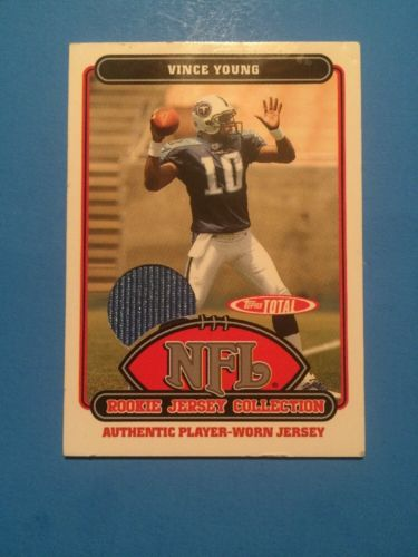 2006 Topps NFL Rookie Jersey Collection Vince Young #62TE