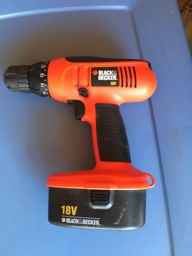 Black & Decker Drill W/battery