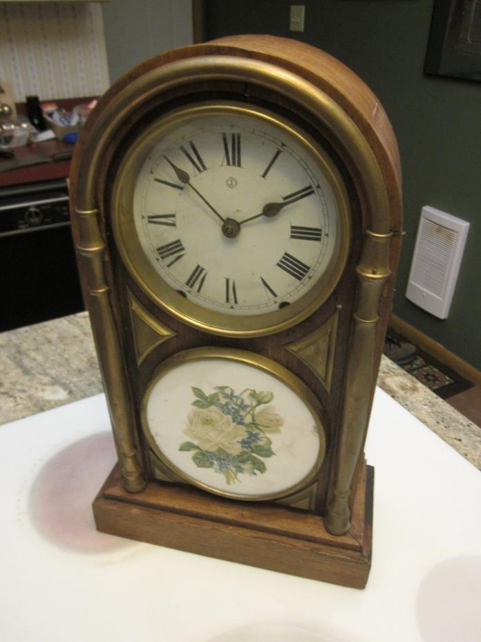 antique Junghans figure 8 clock