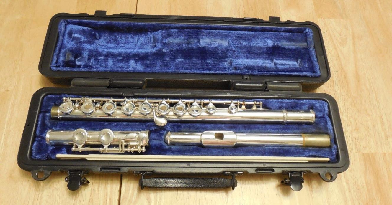 Selmer USA Open Hole Student Silver Plated Flute C Foot 81695