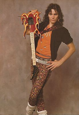 Steve Vai Guitar Photo Print Ad