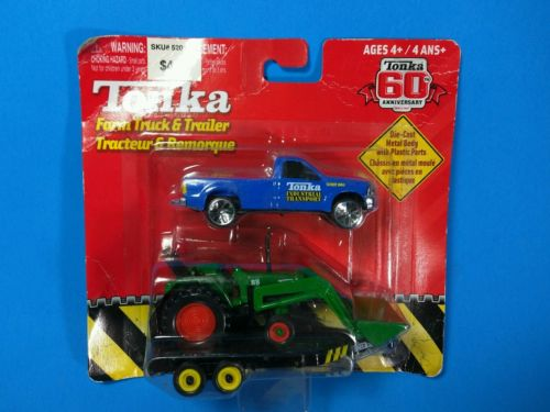 Tonka - 60th Anniversary - Farm Truck & Trailer - Die Cast