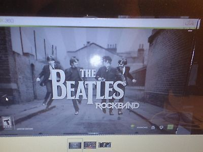 - RARE - The Beatles Rock Band Limited Edition XBOX 360