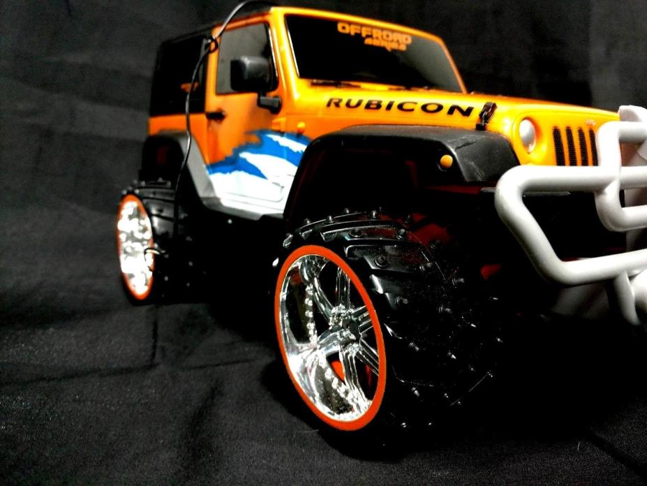 Rock Crawler Jeep Wrangler Rubicon Sclae 1:16 Off Road Series