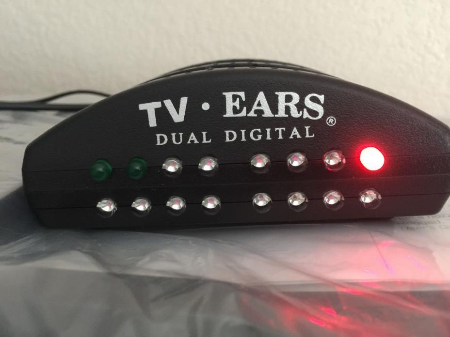 TV Ears Speaker 11290 Wireless Voice Clarifying TV Speaker 5.0 WORKS GREAT