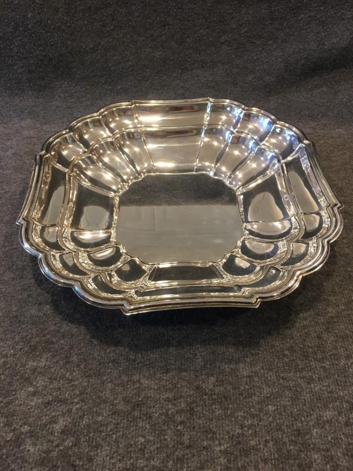 Silver Plated Leonard Scalloped 11