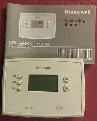 Honeywell RTH221B Programmable Thermostat