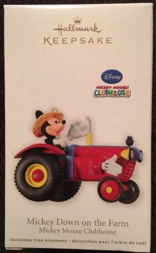 Hallmark: MICKEY DOWN ON THE FARM - Disney Mickey Mouse Clubhouse - Dated 2012