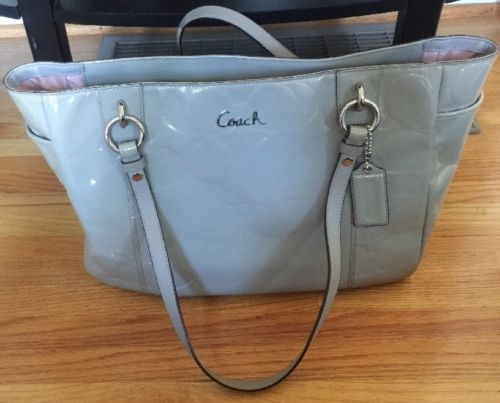 A Barely Used Coach Purse