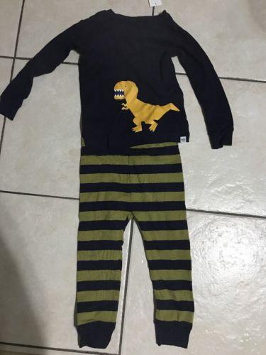 GAP BABY Boys Dinosaur Pajamas Toddler PJs Sleepwear Sz 18-24 M 2T 3T 4T