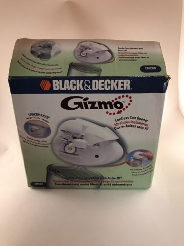 Black And Decker Gizmo Cordless Can Opener