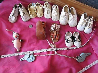 Baby Shoe Lot Mixed Vintage And New