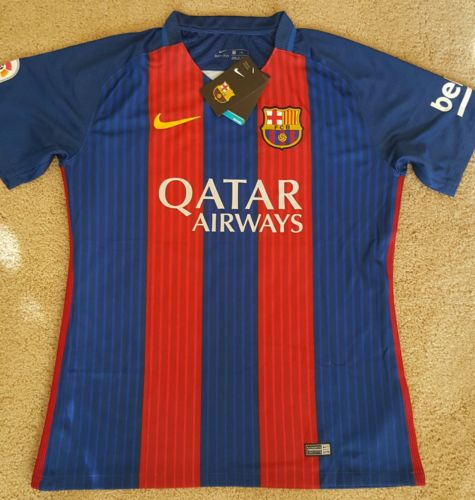 barcelona soccer jersey nike replica Messi #10 large