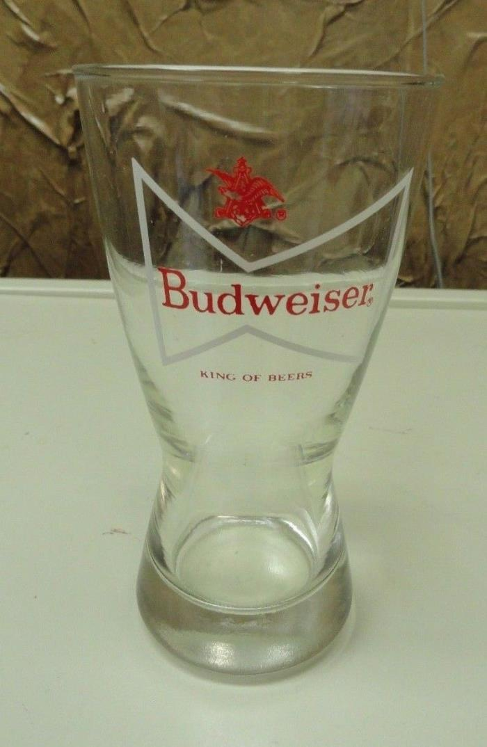 Budweiser King of Beers Beer Glass