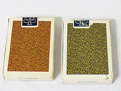 VTG 1985 P Morris VIRGINIA SLIMS Playing Cards 2 Pack, 1 Sealed, 1 Open 55 cards