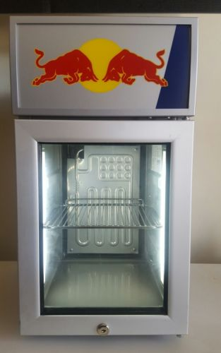 RED BULL ENERGY DRINK LED BABY COOLER FRIDGE REFRIGERATOR MONSTER ROCKSTAR