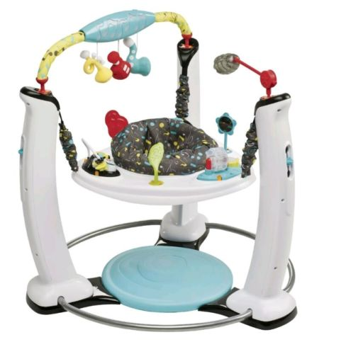 New Baby Exersaucer Jam Session Jump and  Learn Stationary Toddler Jumper Child