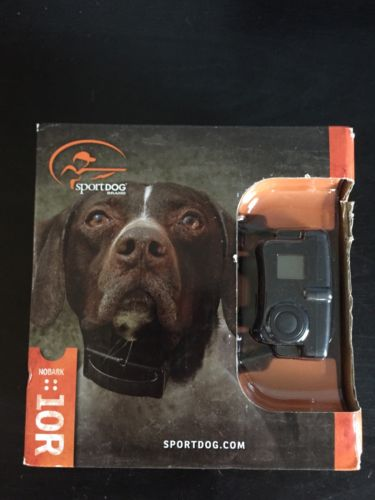 Sportdog Brand SBC::10R Training Obedience Dog Collar NoBark :: 10R * NEW