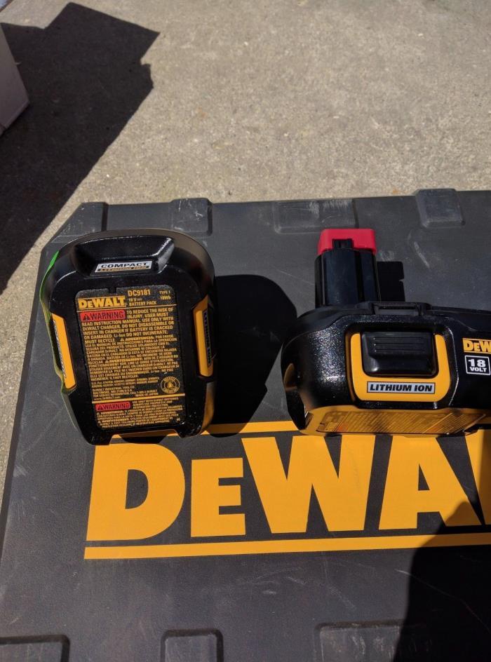 Dewalt 18v Lithium Ion Battery For Sale Classifieds