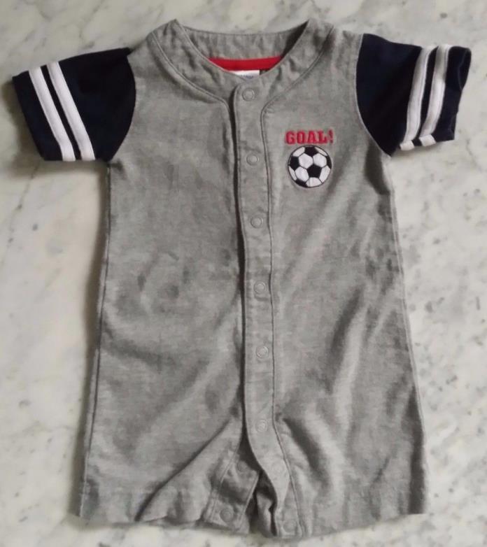 Free S&H !  Gymboree 3-6 M Toddler Boys 100% Cotton Soccer