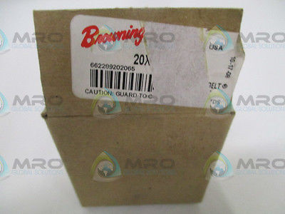 BROWNING 20XLB037 GEAR BELT PULLEY *NEW IN BOX*