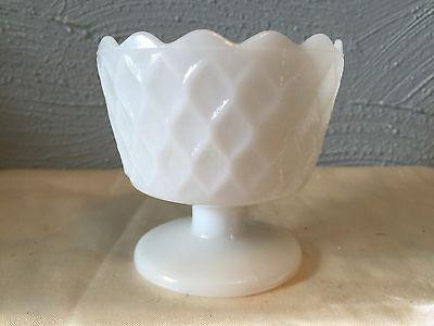 Vintage E.O. Brody Milk Glass Planter - Cleveland Ohio