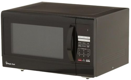 Magic Chef 1.6 cu. ft. Countertop Microwave in Black, New