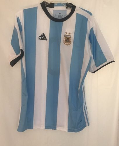 Argentina soccer jersey Size XL #10 Messi