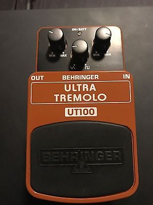 Behringer Ultra Tremolo UT100 Tremolo Guitar Effect -  New without packaging