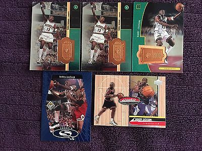 1998 Upper Deck Bobby Jackson Basketball Card Lot of 5
