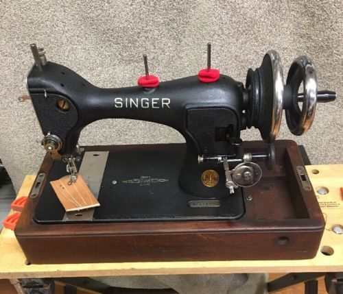 Singer Sewing Machine  Hand Operated Heavy Duty Sewing Machine