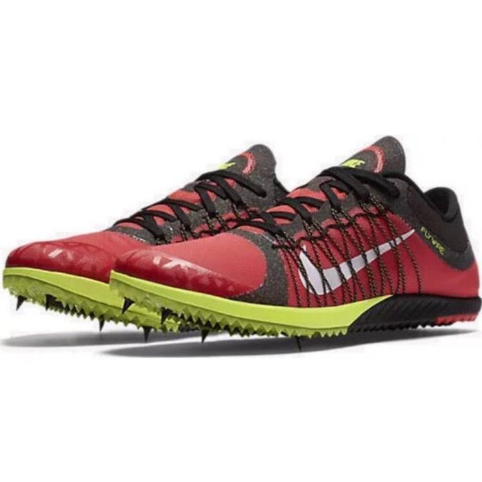 Nike Victory XC Mens Track Field Cross Shoes 654693-817 Racing Grind Red Sz 8.5