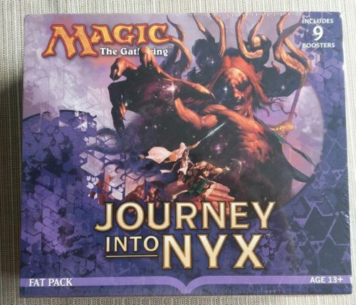 Journey Into Nyx Sealed Fat Pack - English - Magic the Gathering