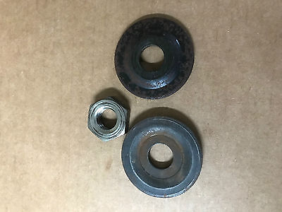 CRAFTSMAN RADIAL ARM SAW COLLARS AND NUT PART #62498 AND #30495