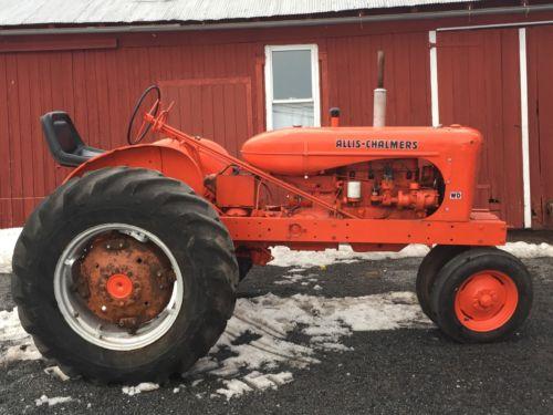 Allis Chalmers Antique Tractor