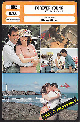 FOREVER YOUNG 1992 Mel Gibson Film MOVIE PHOTO CARD