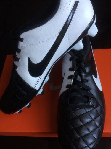 Nike Tiempo Rio II FG Men's Soccer Cleats Size 7.5 NIB 631287 010