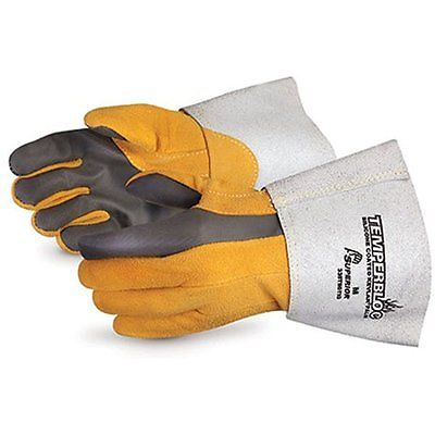 Superior Welding Gloves 335TBDTIG Temperbloc Deerskin Leather TIG Welder Glove 1